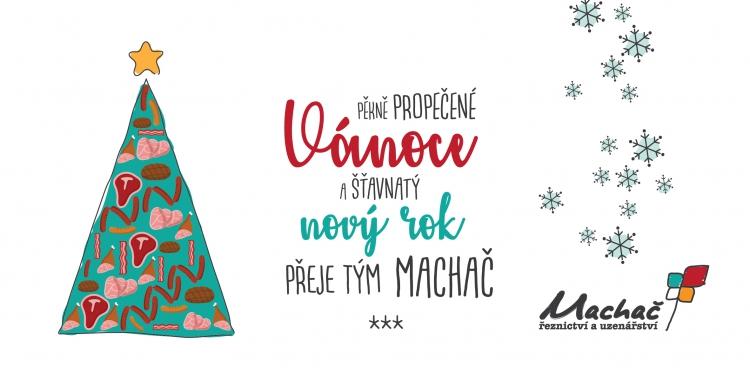 Pěkně propečené Vánoce a šťavnatý nový rok