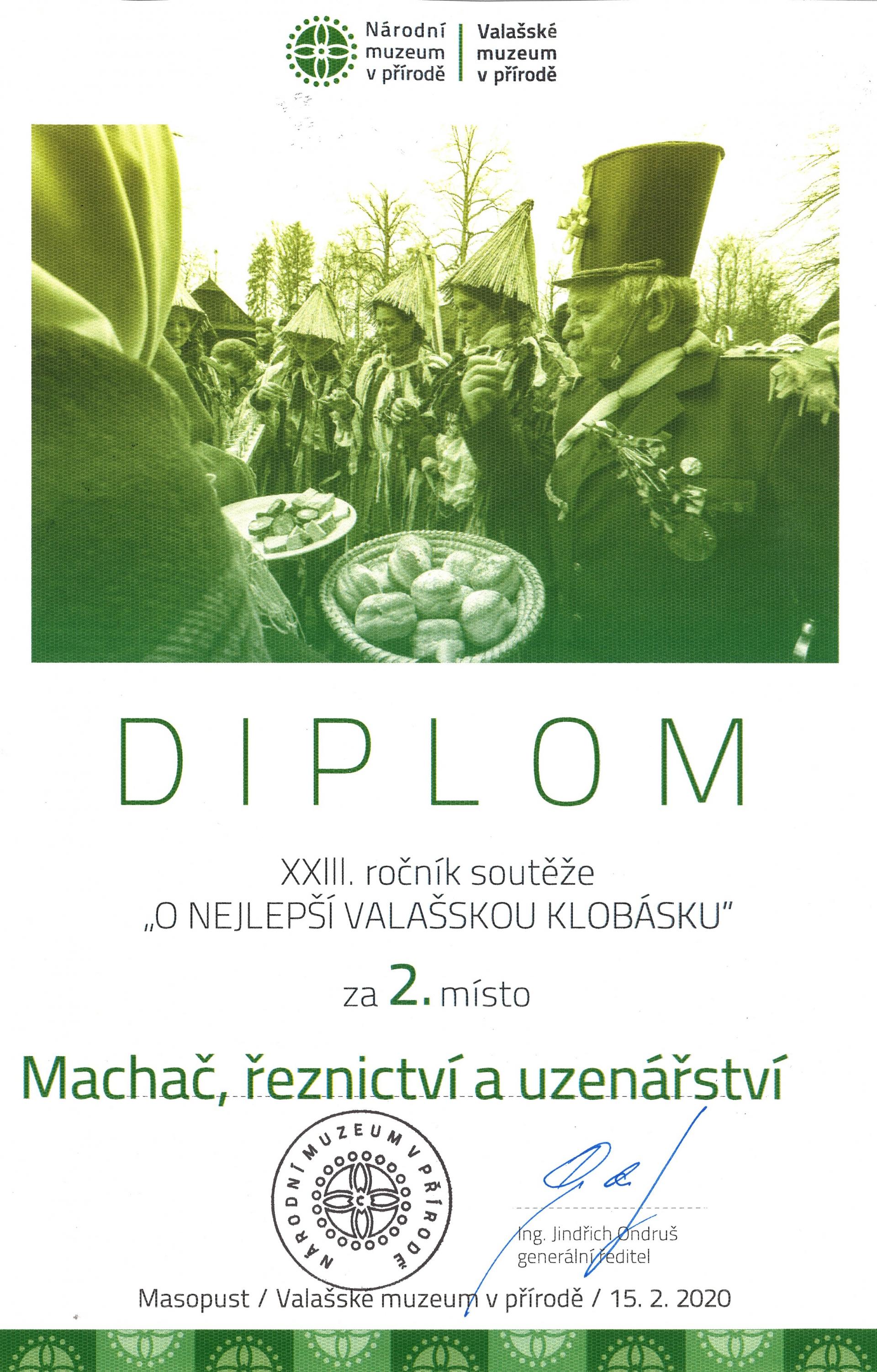 12. ročník o NEJLEPŠÍ VALAŠSKOU KLOBÁSKU