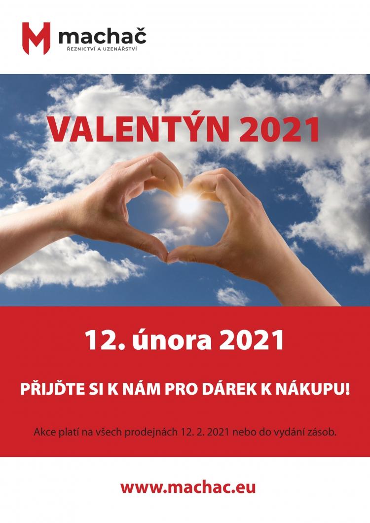 Valentýn u Machače - v pátek 12. 2. 2021