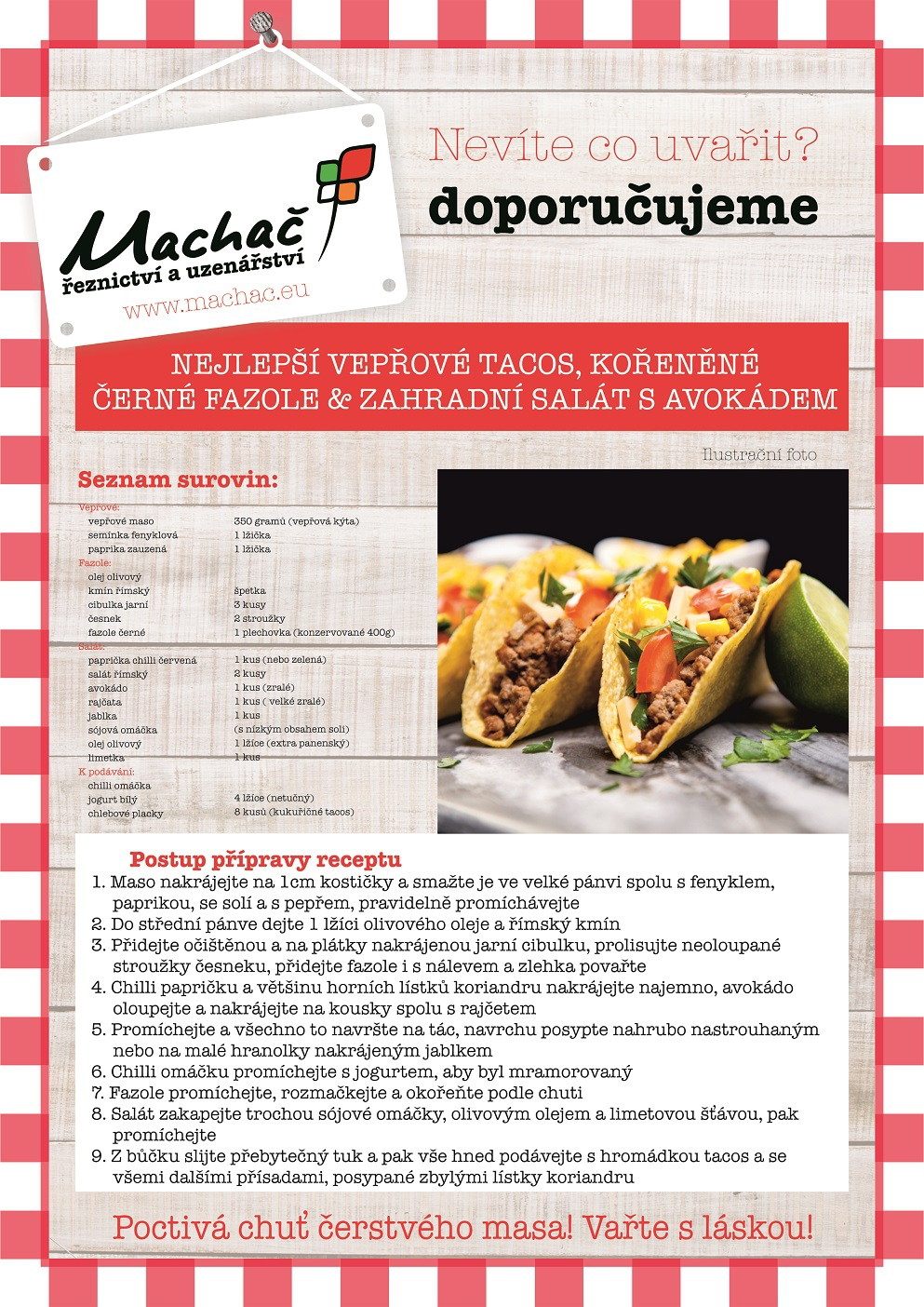 Nejlepší vepřové tacos